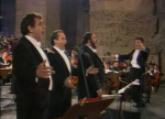 O SOLE MIO : Domingo, Carreras, Pavarotti (vidéo)